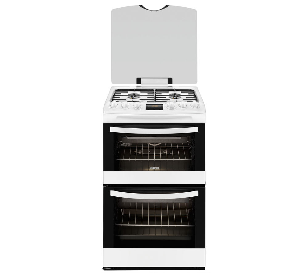 ZANUSSI ZCG43330WA Gas Cooker - White