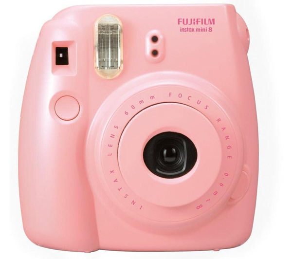 buy instax mini 8 instant camera 10 shot bundle pink free delivery currys. Black Bedroom Furniture Sets. Home Design Ideas