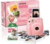 INSTAX Mini 8 Instant Camera & 10 Shot Bundle - Pink