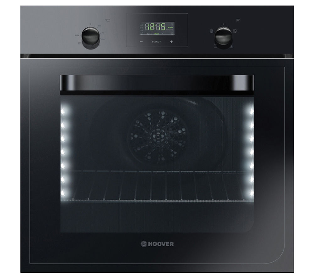 Image of HOOVER HCGF304/6WPP Electric Oven - Black, Black
