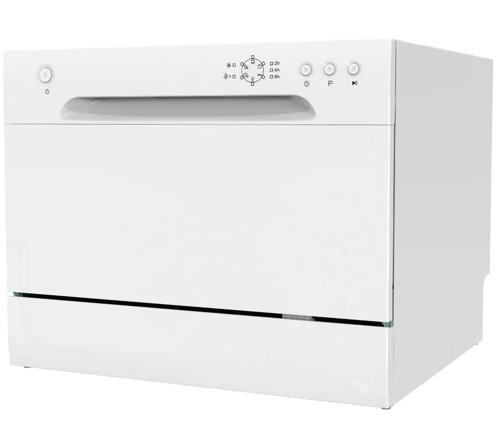 Mini Dishwashers Buy Essentials Cdwtt15 Compact Dishwasher White Free Delivery