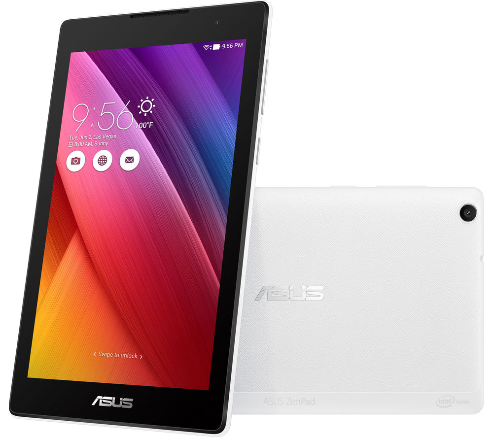 "Image of Asus ZenPad Z170C 7"" Tablet - 16 GB, White, White"