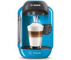 BOSCH Tassimo Vivy II TAS1255GB Hot Drinks Machine - Blue