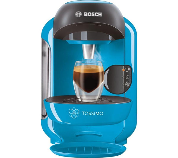 Buy TASSIMO by Bosch Vivy II TAS1255GB Hot Drinks Machine - Blue Free Delivery Currys