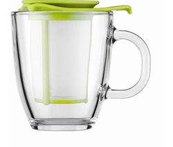 BODUM Yo Yo Mug & Tea Strainer Set - Lime