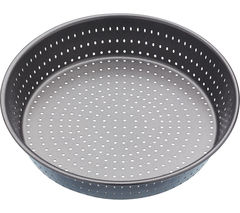 MASTER CLASS Crusty Bake 23 cm Non-stick Deep Pie Pan - Black