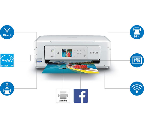 epson expression home xp 435 all in one wireless inkjet printer deals pc world. Black Bedroom Furniture Sets. Home Design Ideas