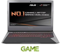 "ASUS Republic of Gamers G752VL 17.3"" Gaming Laptop - Metallic Silver"