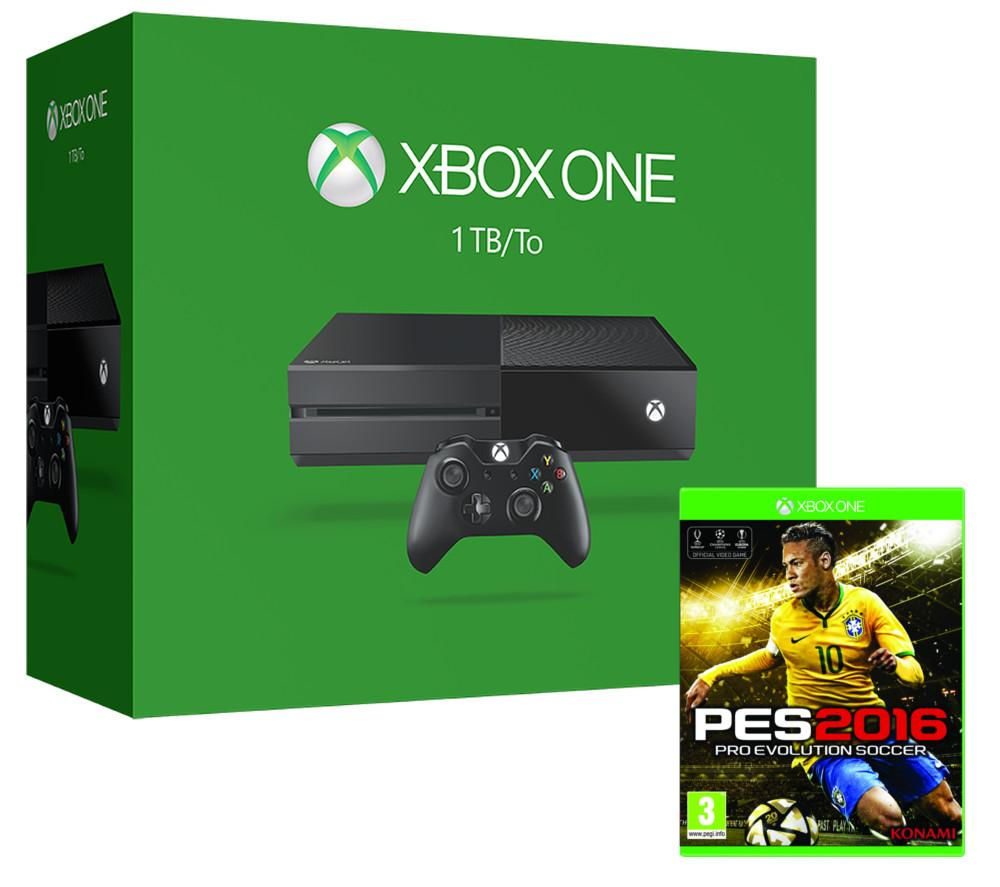 Microsoft Xbox One & PES 2016 Bundle