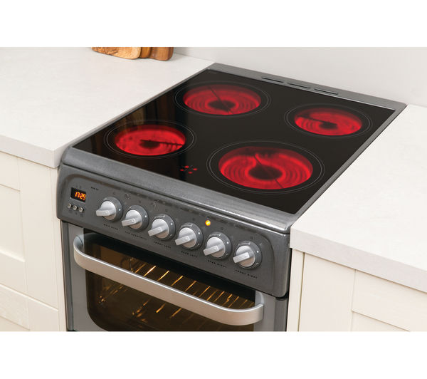 Buy Hotpoint Ultima Hue52gs 50 Cm Electric Cooker