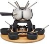 KITCHEN CRAFT Artesà Six Person Party Fondue Set - Stainless Steel