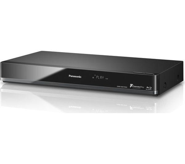 buy panasonic dmr bwt850eb smart 4k ultra hd 3d blu ray dvd recorder free delivery currys. Black Bedroom Furniture Sets. Home Design Ideas