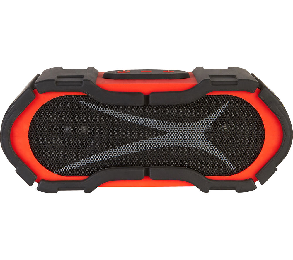 Click to view more of ALTEC LANSING  Boom Jacket iMW576 Portable Wireless Speaker - Red, Red