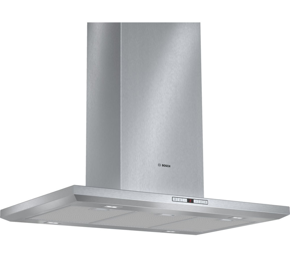 Image of BOSCH Serie 8 Exxcel DIB091U51B Chimney Cooker Hood - Stainless Steel, Stainless Steel