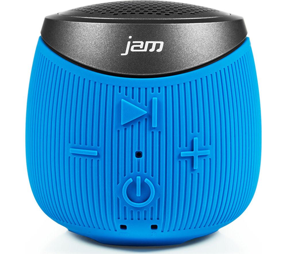 JAM Double Down HX-P370BL Portable Wireless Speaker - Blue