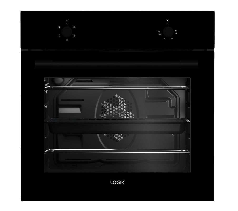 LOGIK  LBFANB16 Electric Oven  Black Black