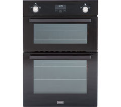 STOVES Professional SGB900MFSe Gas Double Oven - Black