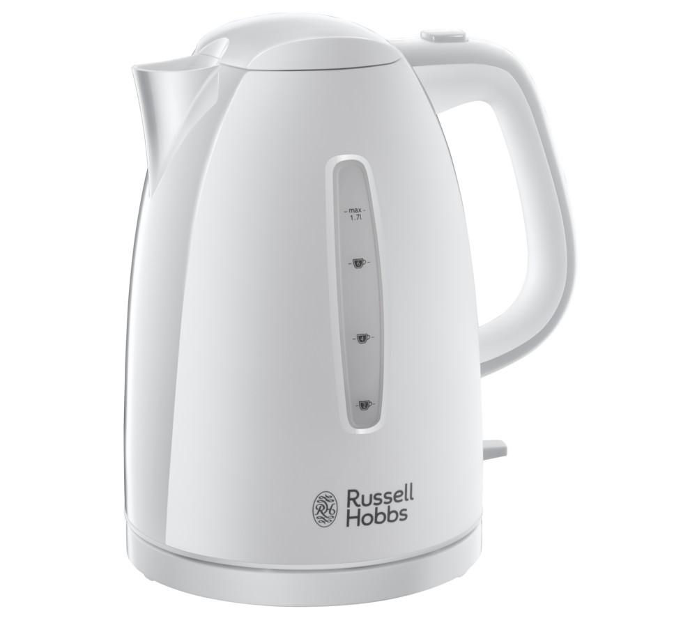 RUSSELL HOBBS Textures 21270 Jug Kettle - White