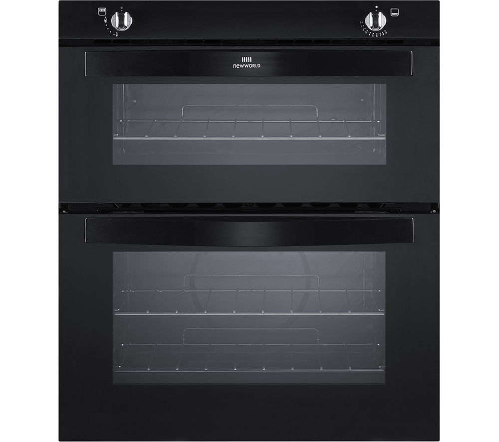 NEW WLD  NW701G BLK Gas Builtunder Oven  Black Black