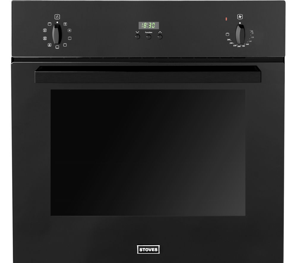 STOVES  444440825 Electric Oven  Black Black