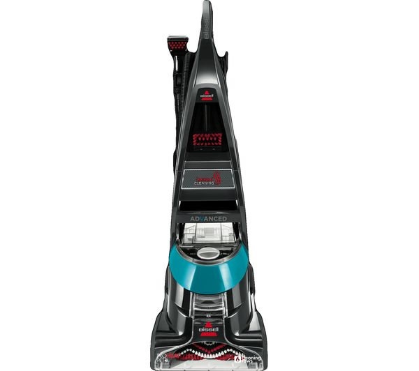 Image of BISSELL Advanced ProHeat Pet 2009E Upright Carpet Cleaner - Titanium & Teal