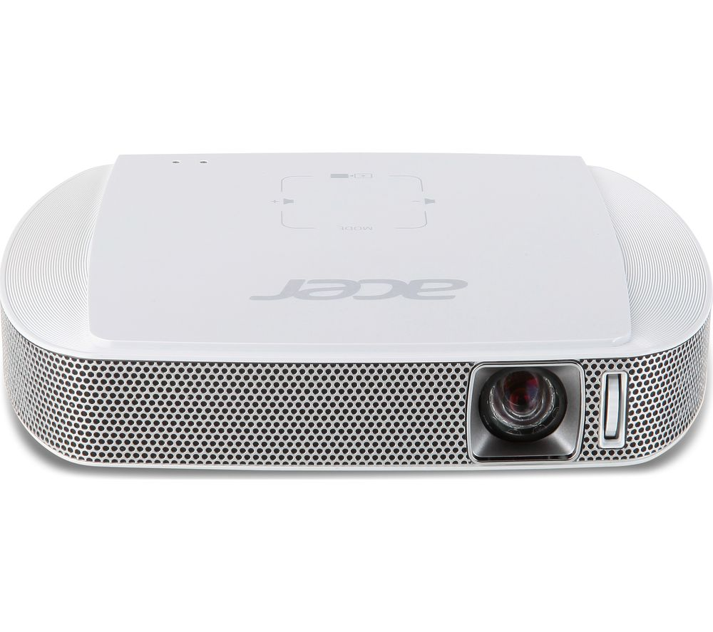 Acer c205 short throw portable projector review for Portable projector reviews