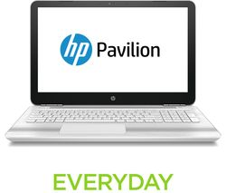 "HP Pavilion 15-au176sa 15.6"" Laptop - White"