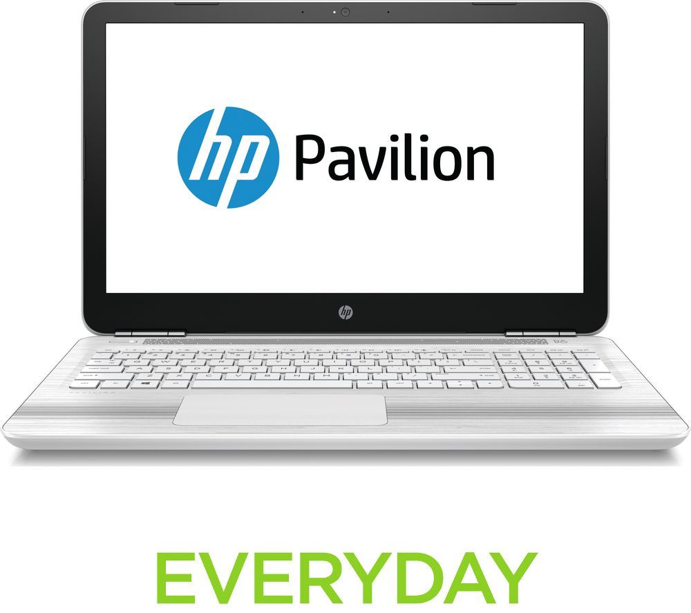 hp pavilion 15 au176sa 15 6 laptop white deals pc world. Black Bedroom Furniture Sets. Home Design Ideas