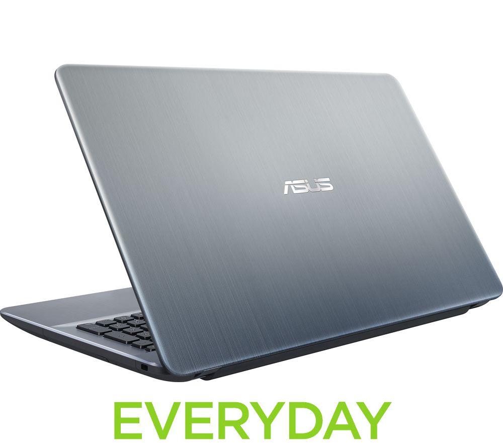 ASUS VivoBook Max X541 15.6 Laptop  Silver Silver