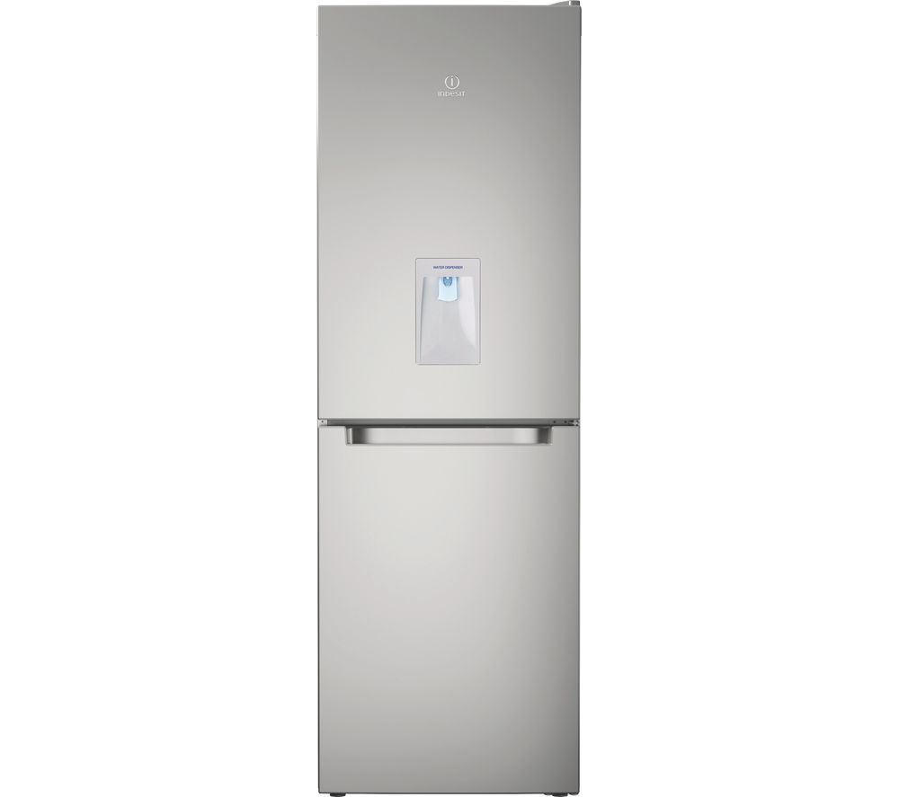 INDESIT LD70 N1S WTD 60/40 Fridge Freezer - Inox