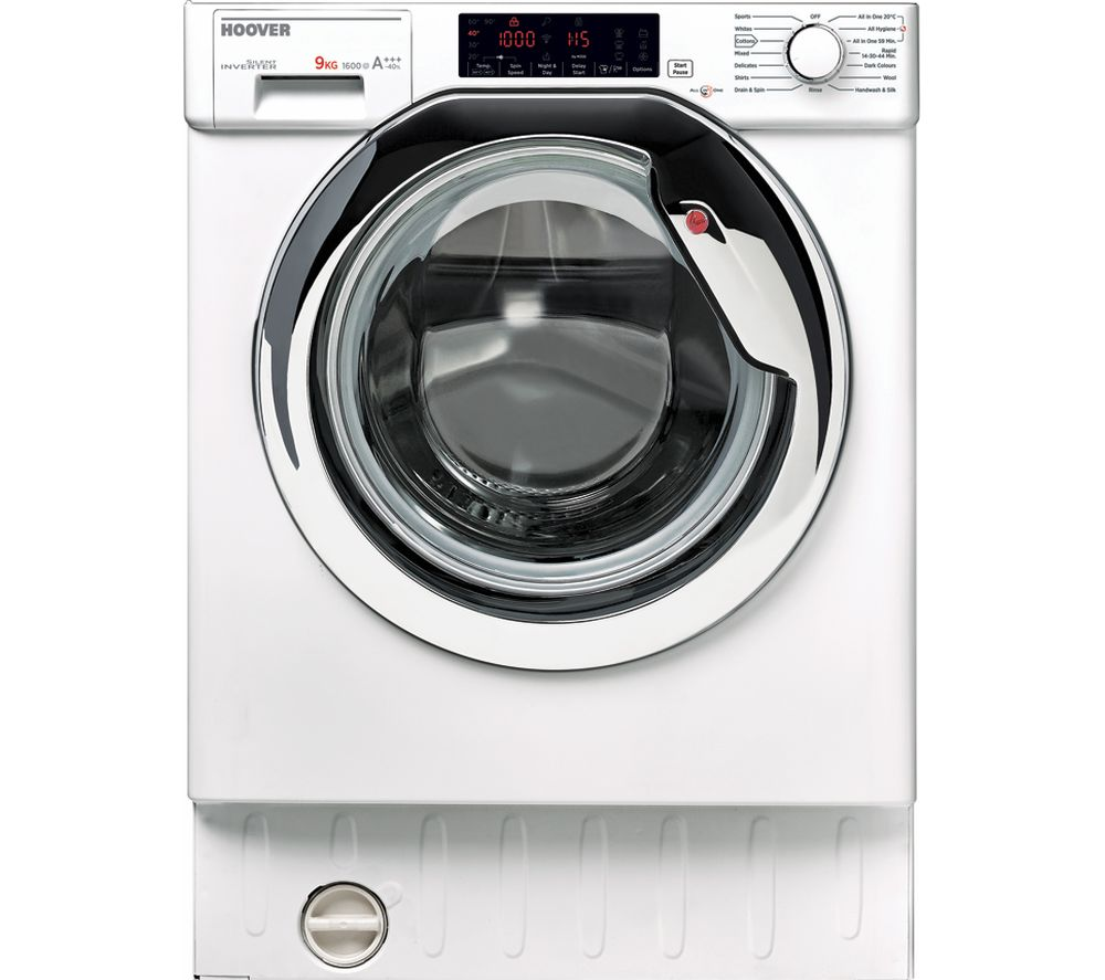 HOOVER HBWM 916TAHC-80 Integrated 9 kg 1600 Spin Washing Machine