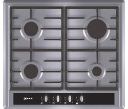 NEFF T23S36N0GB Gas Hob - Stainless Steel
