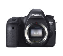 CANON EOS 6D DSLR Camera - Black, Body Only