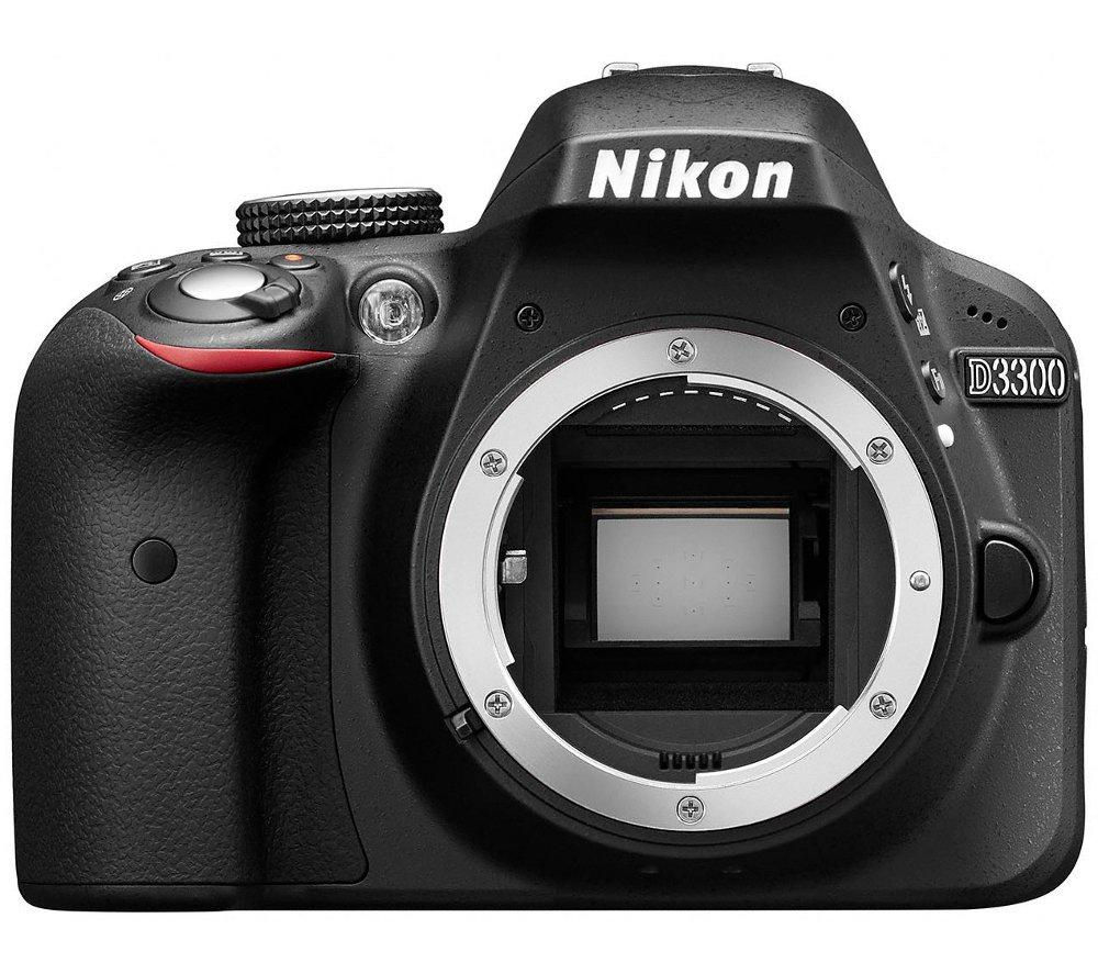 NIKON D3300 DSLR Camera - Body Only