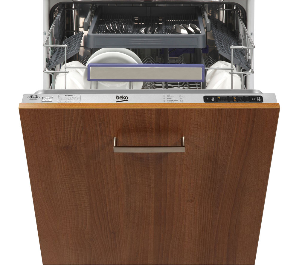 BEKO  DW663 Full-size Integrated Dishwasher +  Select BCE772F Integrated Fridge Freezer