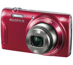 FUJIFILM FinePix T500 Compact Digital Camera – Red