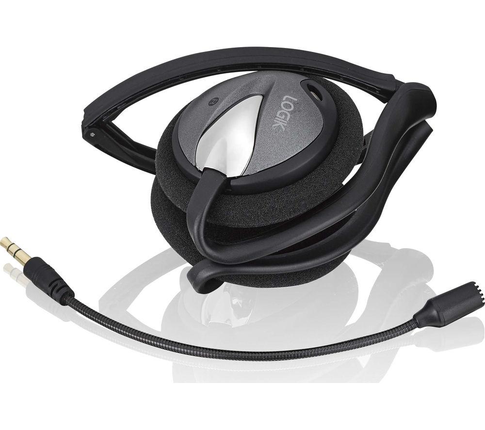 LOGIK LHSNB15 Headset - Black