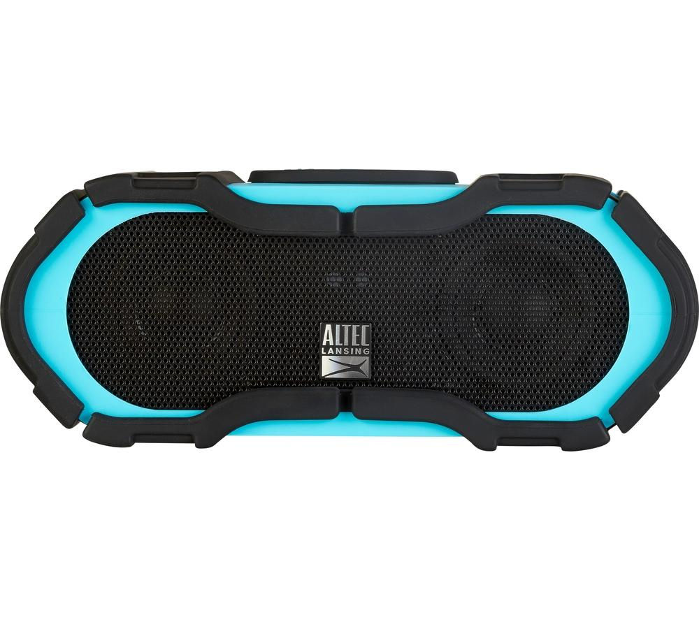 Click to view more of ALTEC LANSING  Boom Jacket iMW576 Portable Wireless Speaker - Blue, Blue