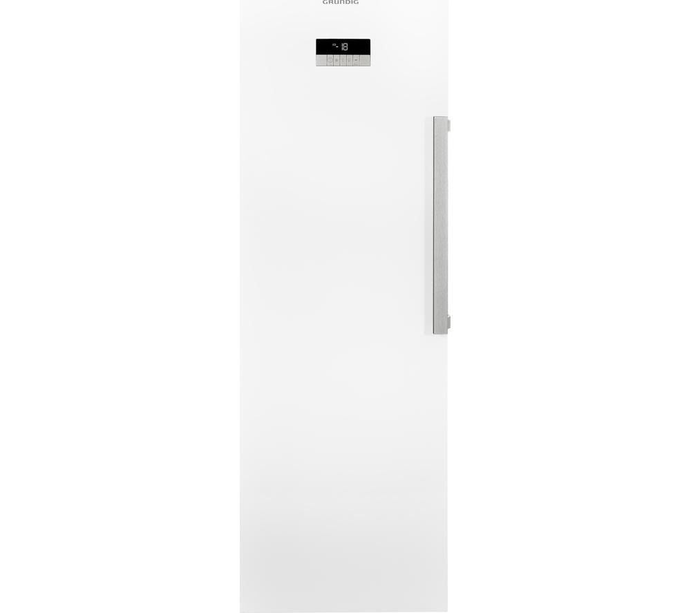 Image of GRUNDIG GFN13810W Tall Freezer - White, White