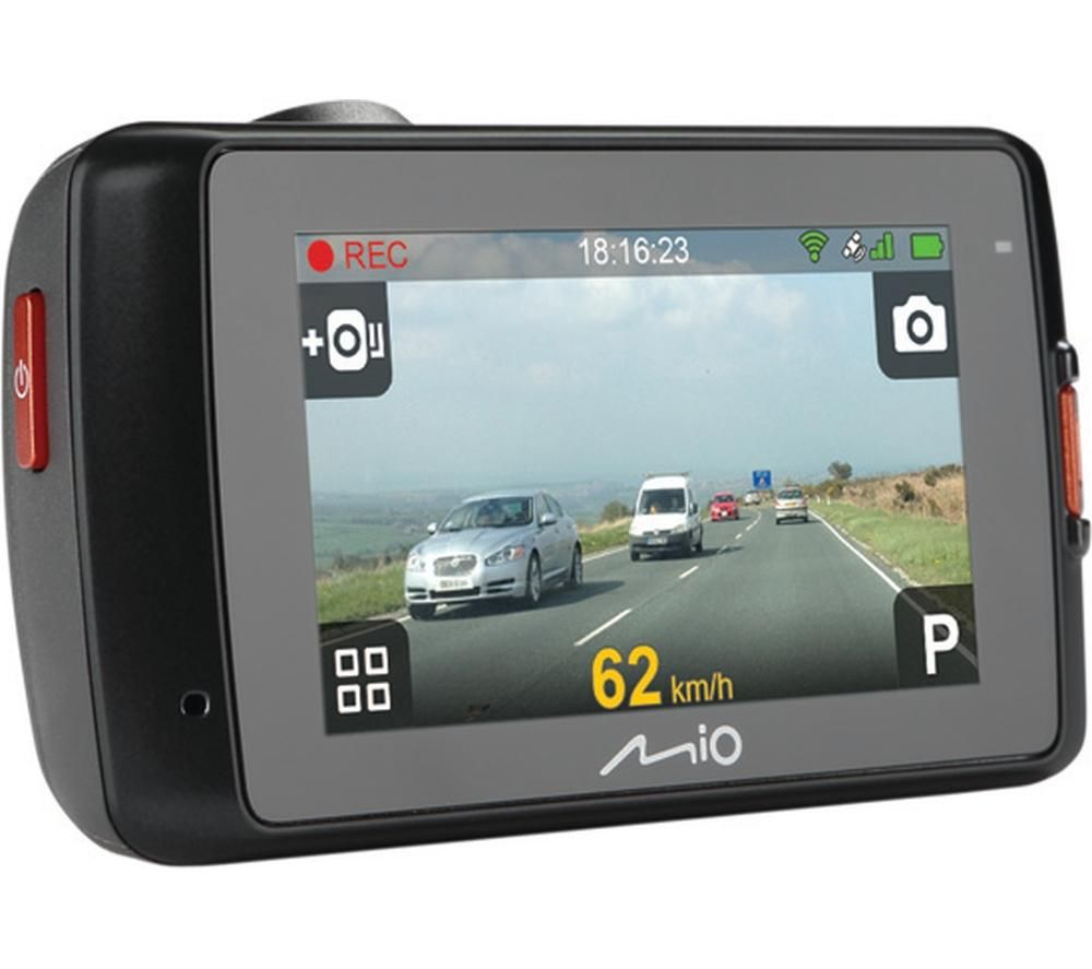 MIO MiVue 658 WiFi Dash Cam - Black