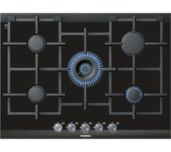 SIEMENS ER726RB71E Gas Hob - Black