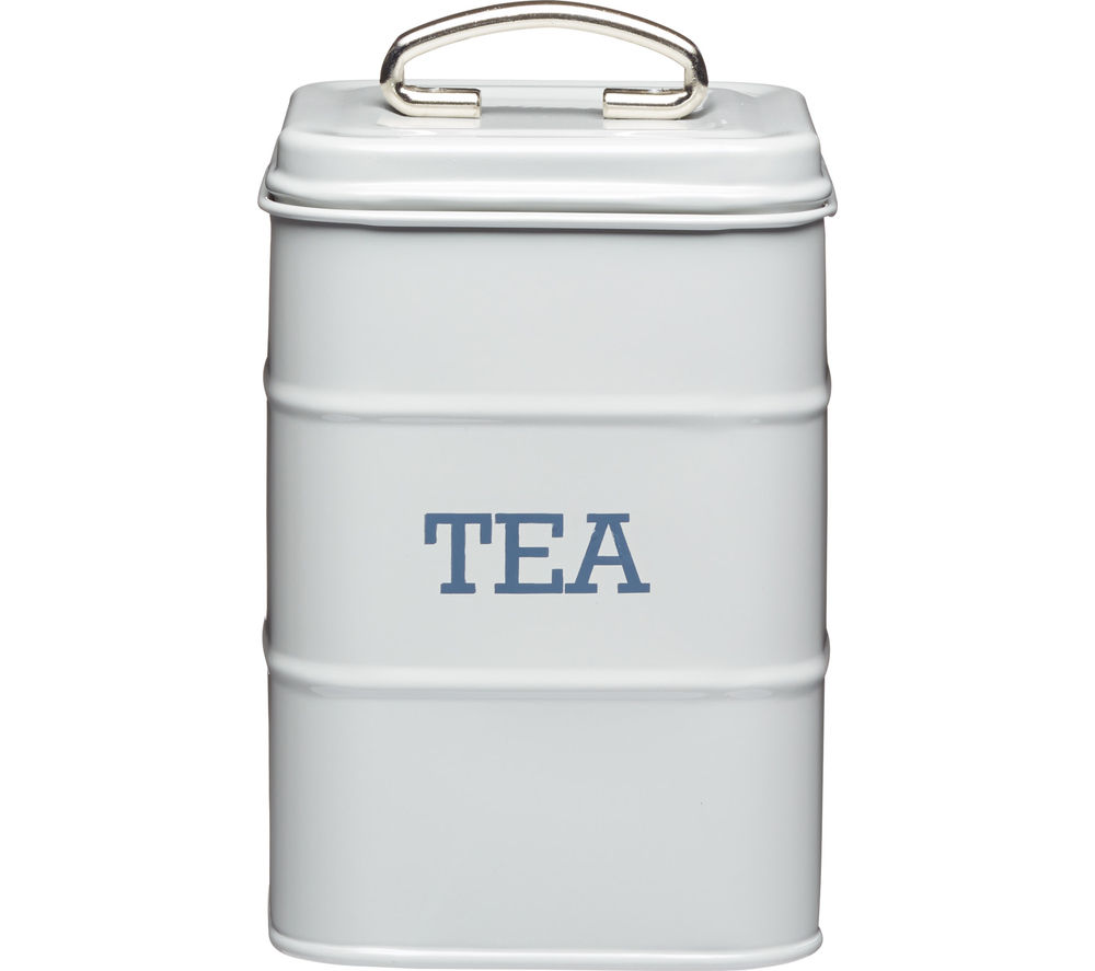 KITCHEN CRAFT Living Nostalgia Tea Canister - Grey