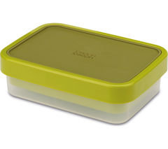 JOSEPH JOSEPH GoEat 81031 Rectangular 2-in-1 Lunch Box - Green