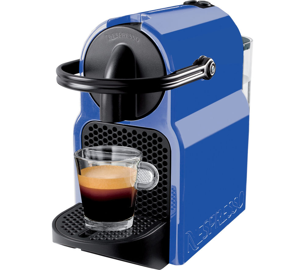 buy magimix nespresso inissia 11354 coffee machine blueberry blue free delivery currys. Black Bedroom Furniture Sets. Home Design Ideas