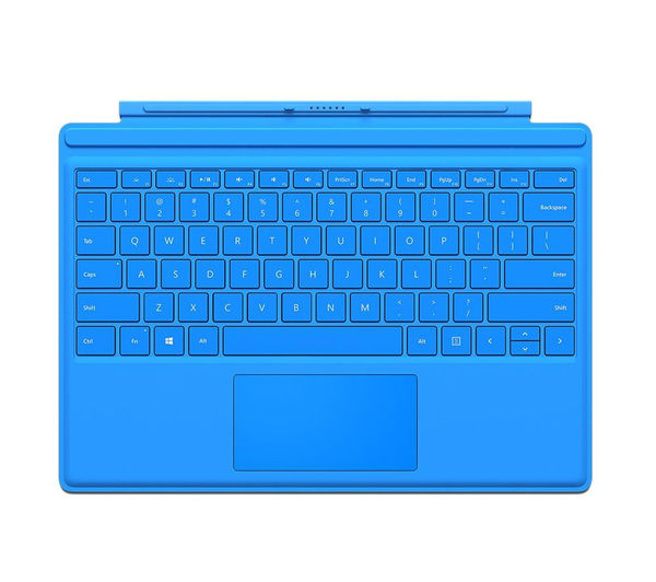 MICROSOFT Surface Pro 4 Typecover - Bright Blue