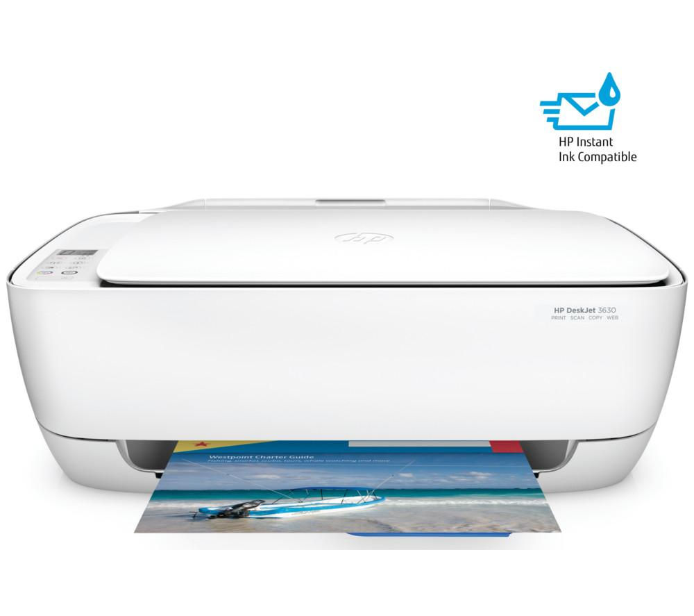 HP DeskJet 3630 All-in-One Wireless Inkjet Printer