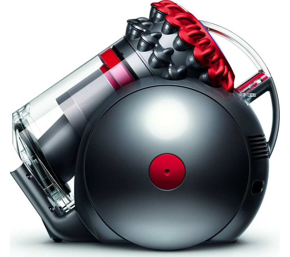 DYSON  Big Ball Total Clean Cylinder Bagless Vacuum Cleaner  Red & Iron Red