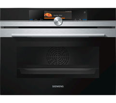 SIEMENS CS658GRS1B Electric Compact Steam Oven - Stainless Steel