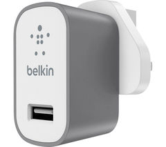 BELKIN MIXIT F8J189dr04-GRY Lightning Charger - Space Grey