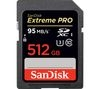 SANDISK Extreme Pro High Performance Class 10 SDHC Memory Card - 512 GB